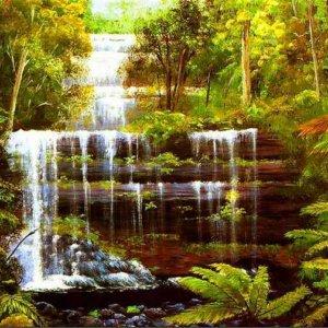 250 Филипс, Джордж. Австралийский пейзаж