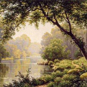 259 Rene Charles Edmond His - Les Reflections sur la Marne