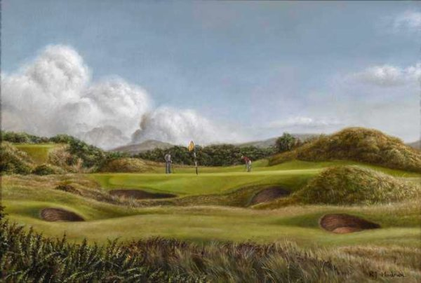 262 Roy Hodrien – Royal Troon, 8th Hole – The Postage Stamp