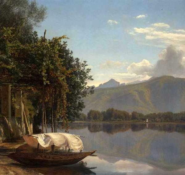265 JANUS ANDREAS BARTOLIN La Cour – View of Lake Lugano