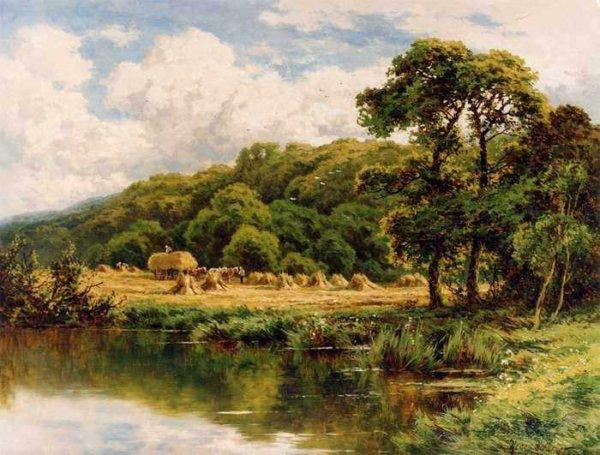 267 Henry H. Parker - The Severn Bridge Near Bridgenorth