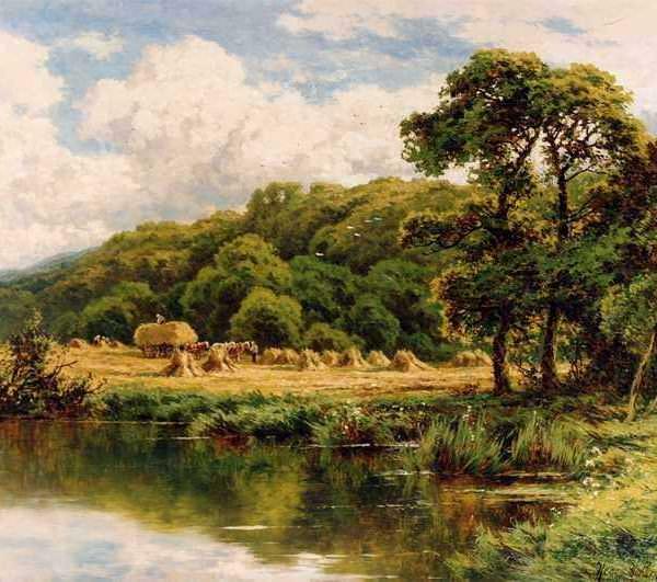 267 Henry H. Parker – The Severn Bridge Near Bridgenorth
