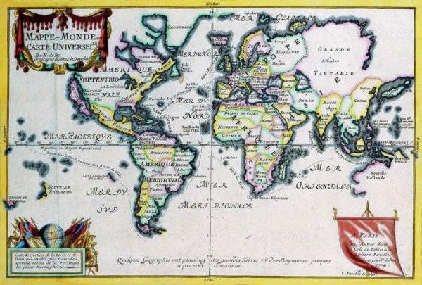 013 Старинные карты мира