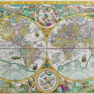 012 Старинные карты мира