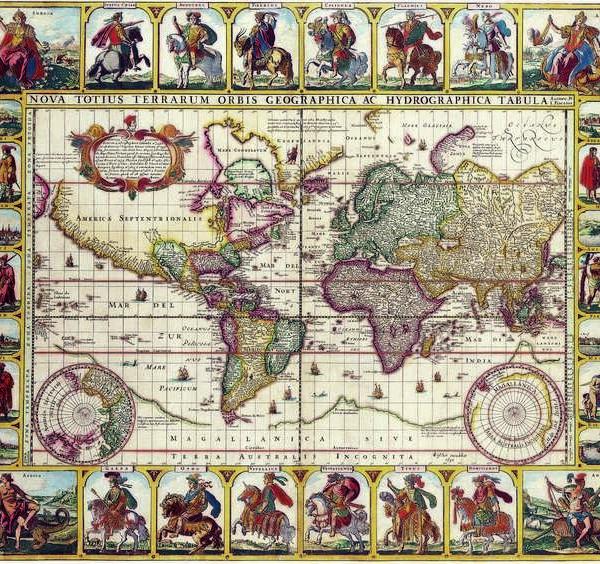 011 Старинные карты мира