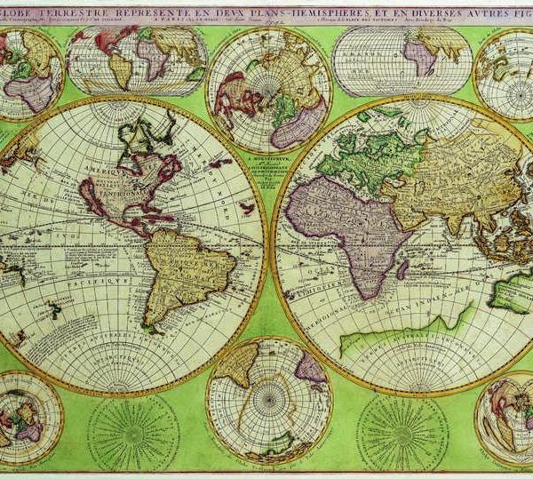 010 Старинные карты мира