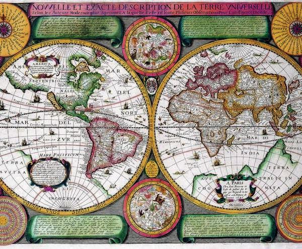 009 Старинные карты мира