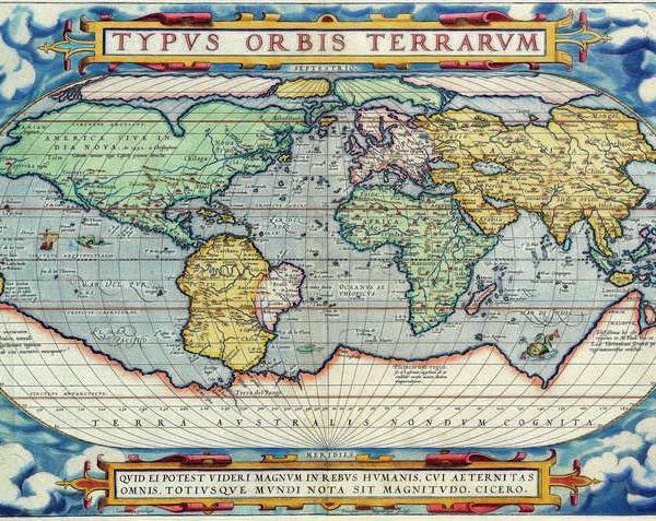 007 Старинные карты мира