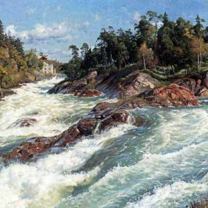 353 Monsted Peder The Raging Rapids
