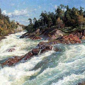 353 Monsted Peder The Raging Rapids