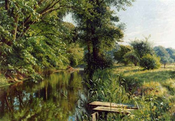 357 Peder Mork Monsted - Reflections of Spring