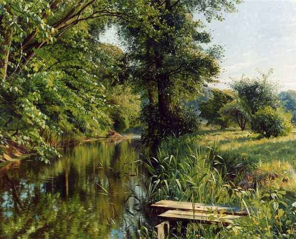 357 Peder Mork Monsted – Reflections of Spring