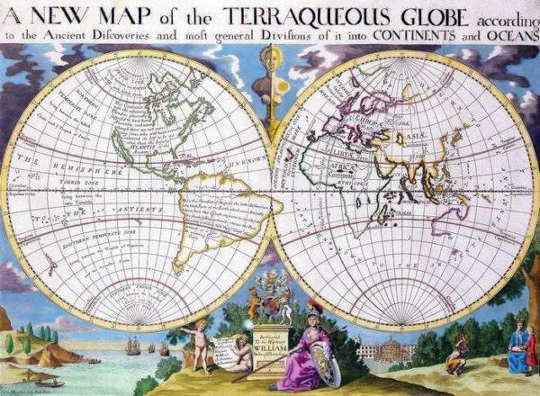 006 Старинные карты мира
