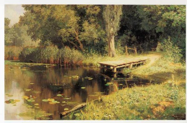 370 Заросший пруд