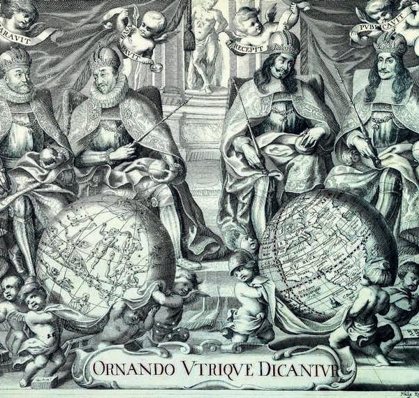 002 Старинные карты мира