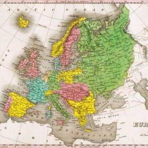 064 Старинные карты мира