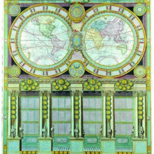 063 Старинные карты мира