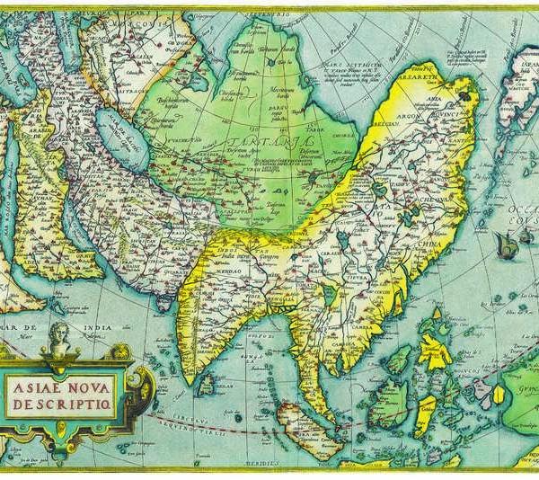 062 Старинные карты мира