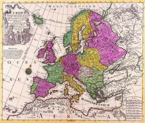036 Старинные карты мира