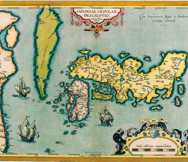 057 Старинные карты мира