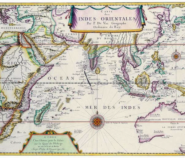 055 Старинные карты мира
