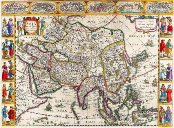 052 Старинные карты мира