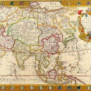 051 Старинные карты мира