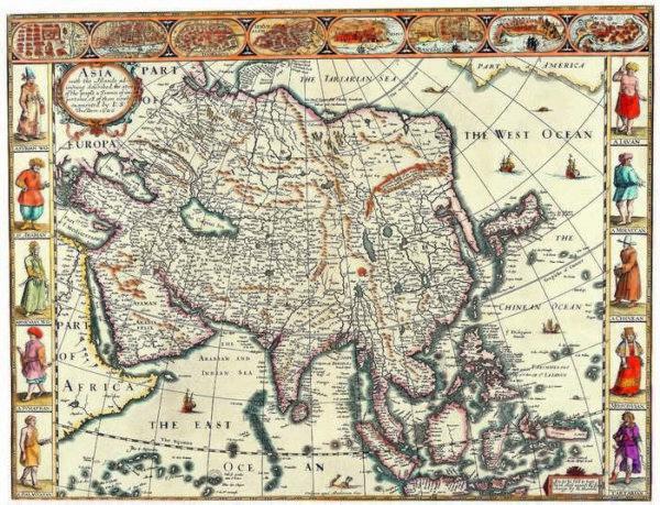 049 Старинные карты мира