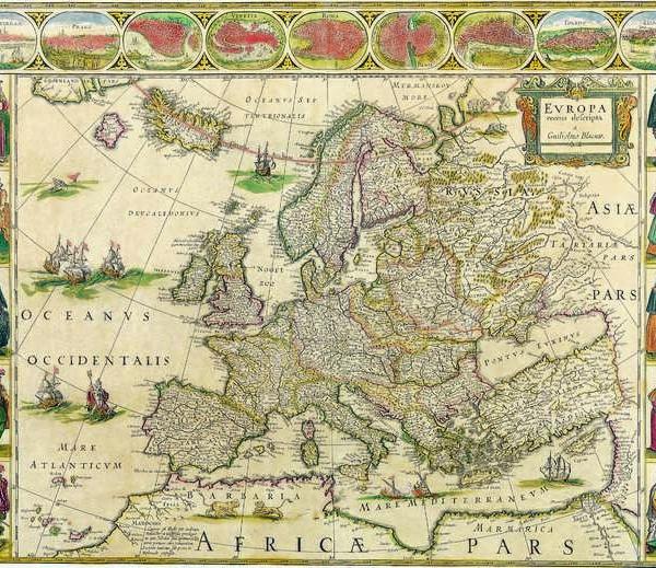 035 Старинные карты мира