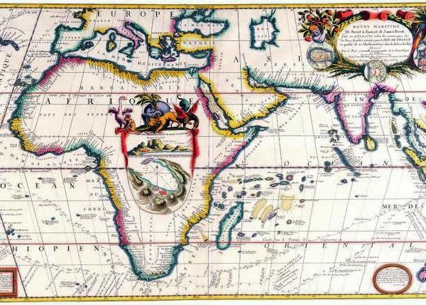 047 Старинные карты мира