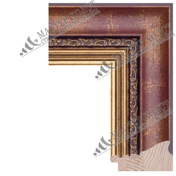 Деревянный багет для картин 640-02