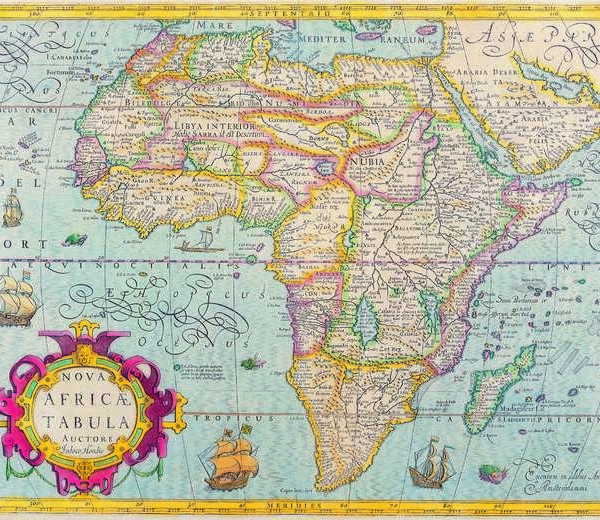 046 Старинные карты мира