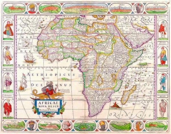 045 Старинные карты мира