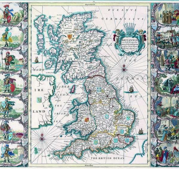 043 Старинные карты мира