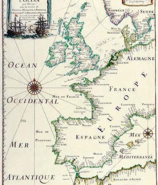 042 Старинные карты мира