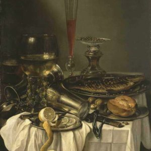 082 Claesz Pieter - Breakfast with Fish