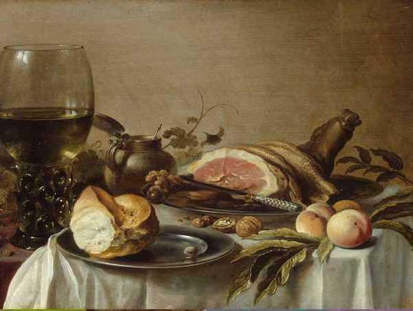 083 Claesz Pieter – Breakfast with Ham