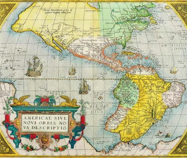 032 Старинные карты мира