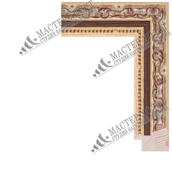Деревянный багет для картин 380-01