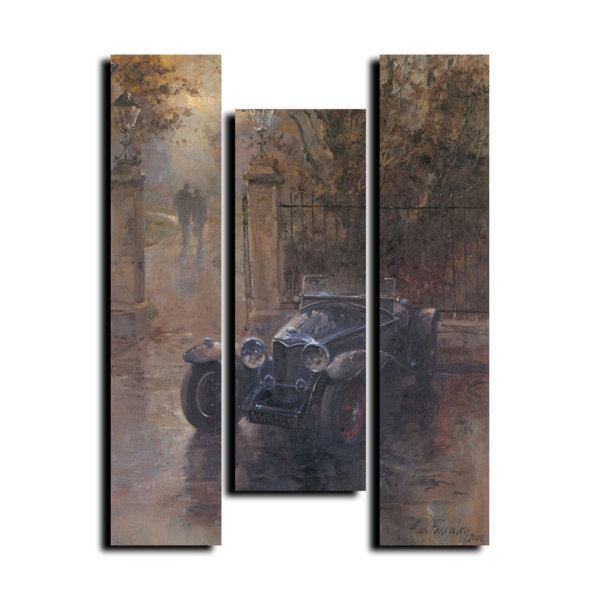Модульная картина The Park Gates V3