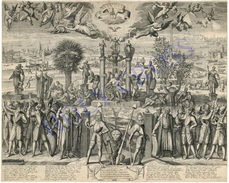 Старинные гравюры 044 - Республика
