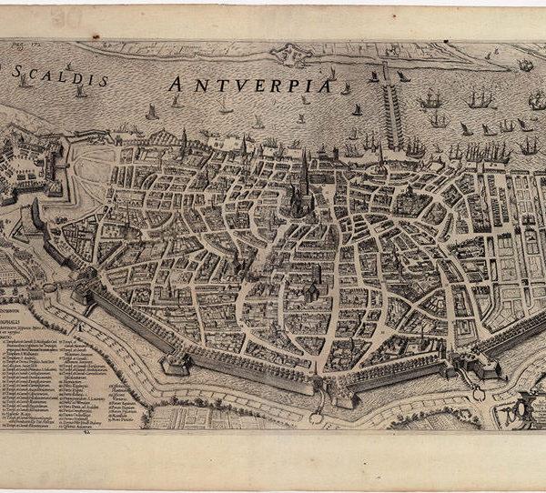 27 Рубенс, Питер Пауль. План Антверпена