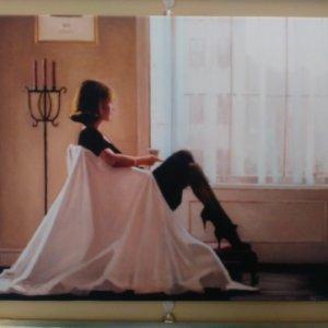 Д. Веттриано «Мысли о тебе» обычная натяжка - 38х50 см – О232