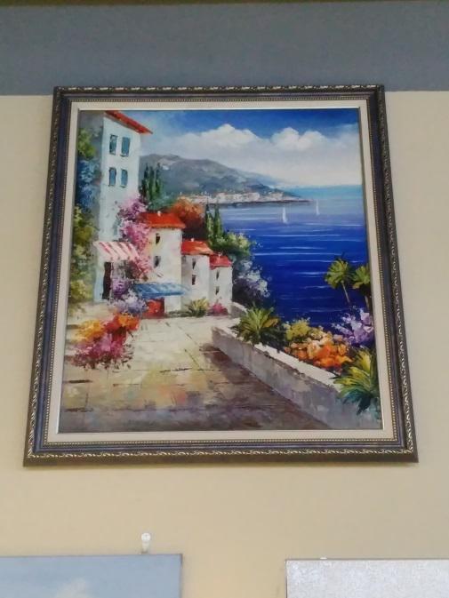 Картина «Греция» в раме - 62х52 см - П269
