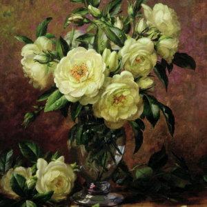Белые розы, подарок от чистого сердца - Альберт Вильямс