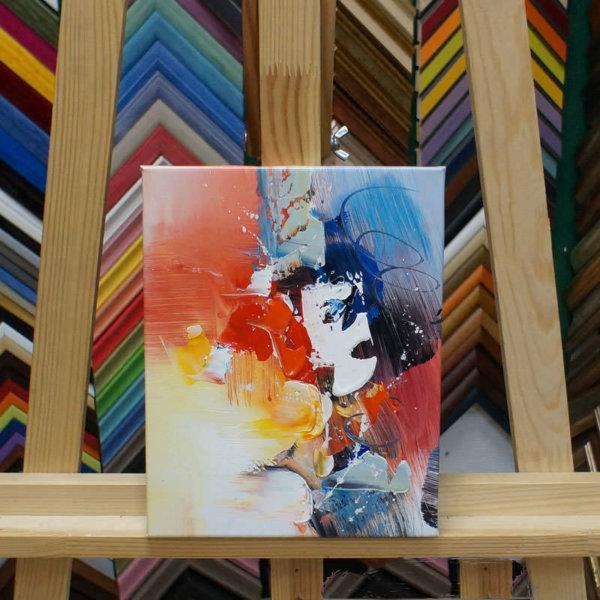 Картина галер натяжка Абстракция 20х25см -138