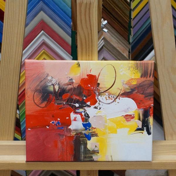 Картина галер натяжка Абстракция 20х25см -139