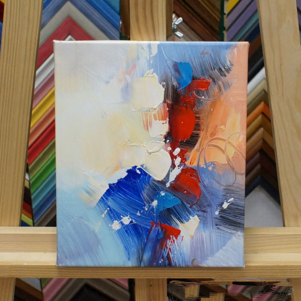 Картина галер натяжка Абстракция 20х25см -150