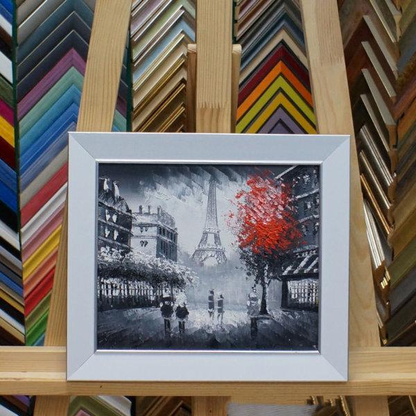 Картина в раме Париж 22х26см -144