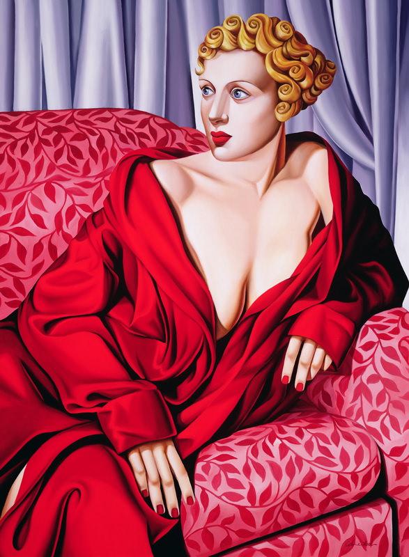 Красное Кимоно 2001- Кэтрин Абель